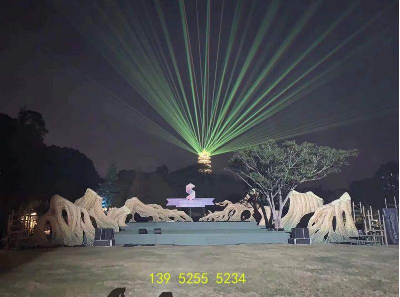 水幕激光灯